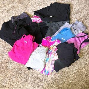 Lot of Women's athletic apparel size Medium